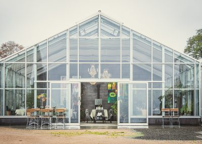 Our beautiful orangerie